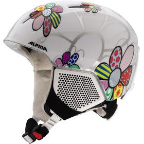 Alpina Carat LX Helm Kinderen wit